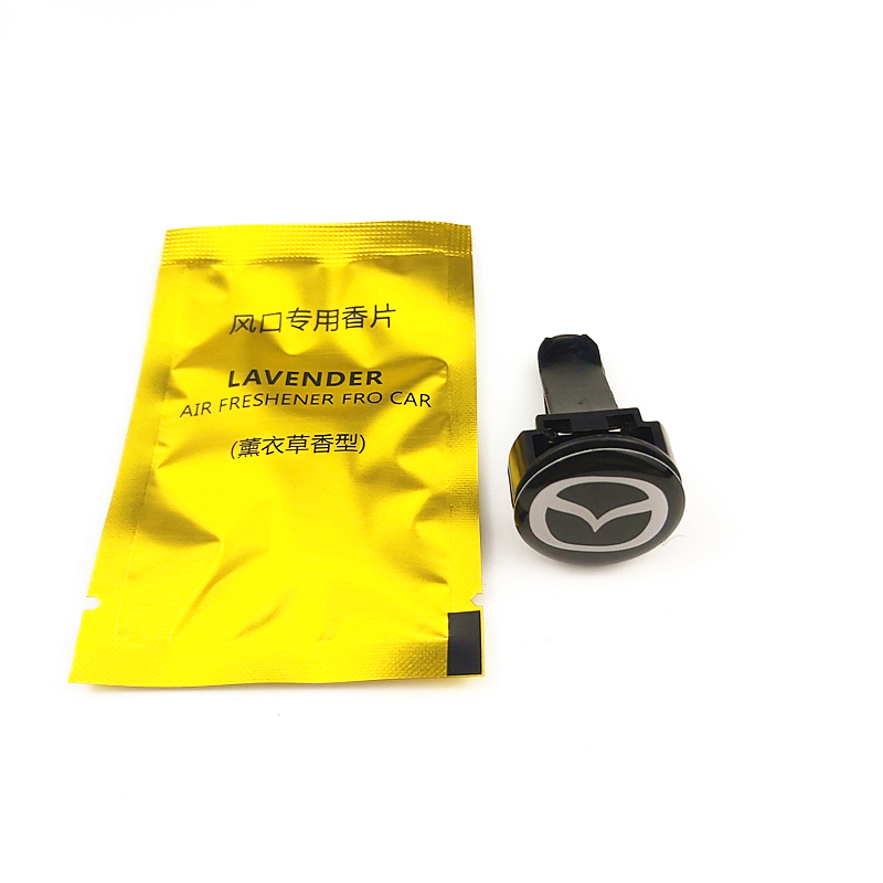 CAR Auto Emblem Car Air Freshener Case For Mazda 2 Mazda 3 MS For Mazda 6 CX-5 CX5 Car-Styling Badge Accessories