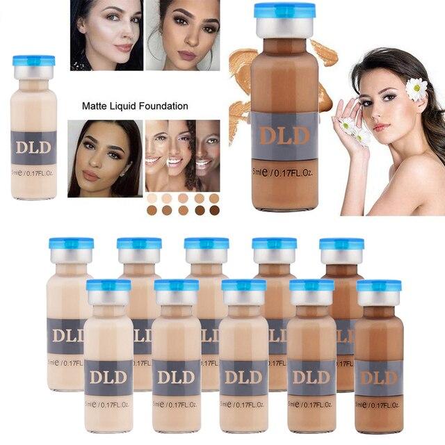 1pc BB Cream Glow Anti-aging Serum Meso White Brightening Serum Natural Nude Concealer Make Up CC Foundation DLD Korean