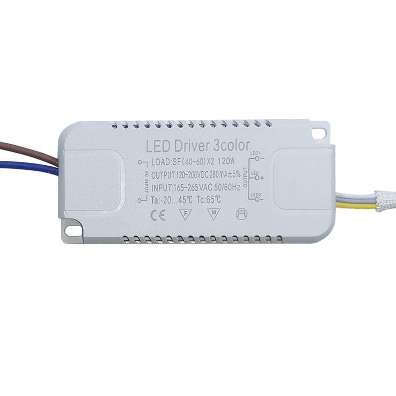 Адаптер для светодиодного драйвера, 8-240 Вт, В переменного тока, неизолирующий трансформатор для замены светодиодного потолосветильник льни...