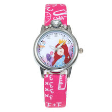 Girls Watch Princess Kids Watches Leathe