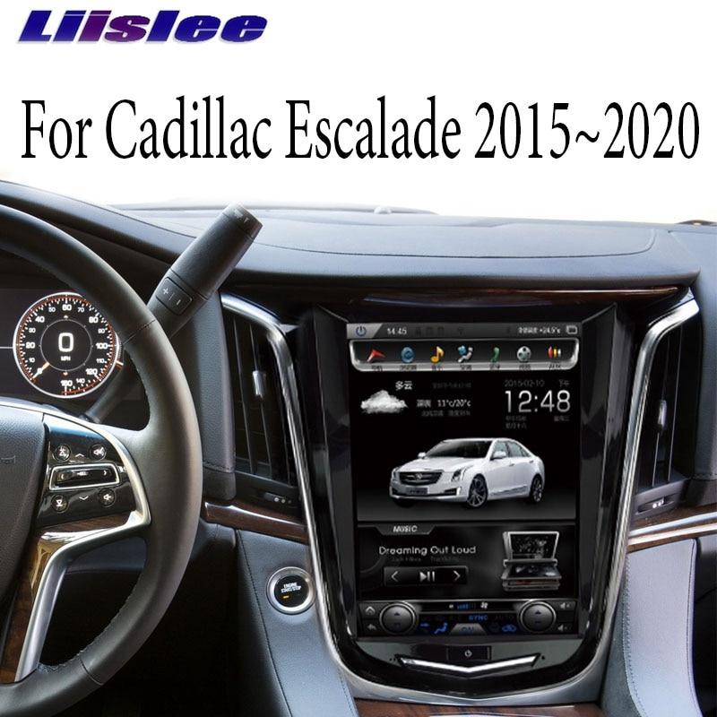 Liandlee Car Multimedia Player Carplay For Cadillac Escalade Gmt K2xl 2015 2020 Car Radio 10 4 Inch Screen Navi Gps Navigation Car Multimedia Player Aliexpress