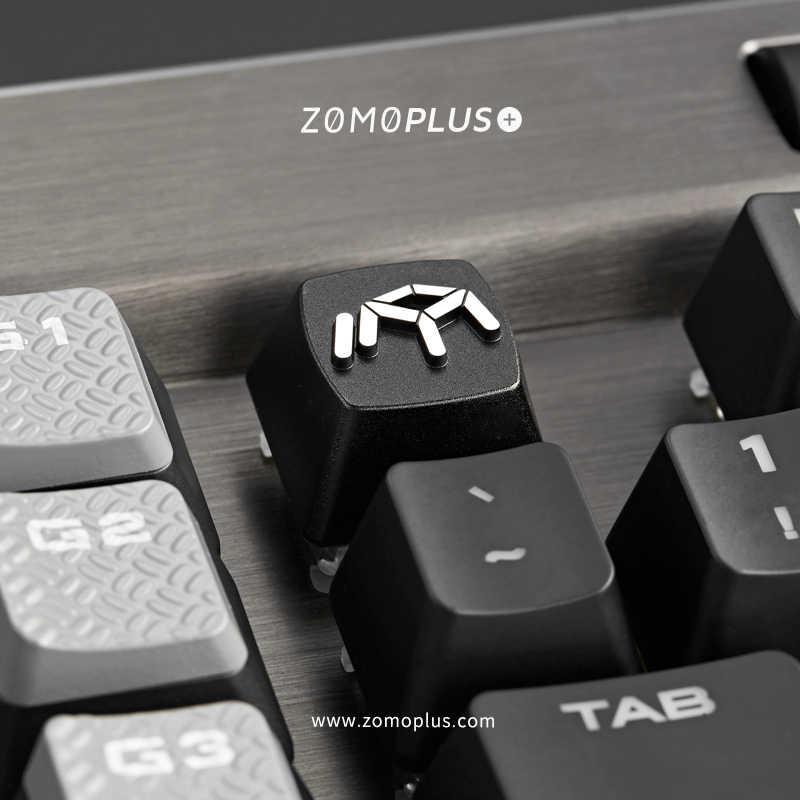 を zomo 社を zomo 社ロゴ職人キーキャップ cnc 互換チェリー Mx スイッチバックスペースキー esc 黒カラーウェイ