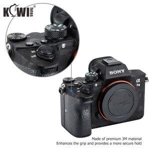 Image 2 - Anti Scratch kamera vücut kapak kaplama çıkartması koruyucu Film seti Sony A7III A7RIII A7 III A7R III A7M3 A7RM3 A7R3 gölge siyah