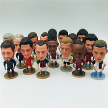 Soccer Cartoon Dolls Zlantan Kun Karim Robert 6.5cm 2.55