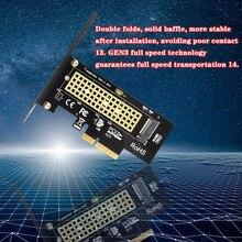 M.2 NVMe SSD NGFF Sang PCIE X4 Bộ Adapter Chìa Khóa Giao Diện Hỗ Trợ Thẻ PCI e PCI Express 3.0X4 2230 2280 Kích Thước M.2 M2 Pcie Adapter