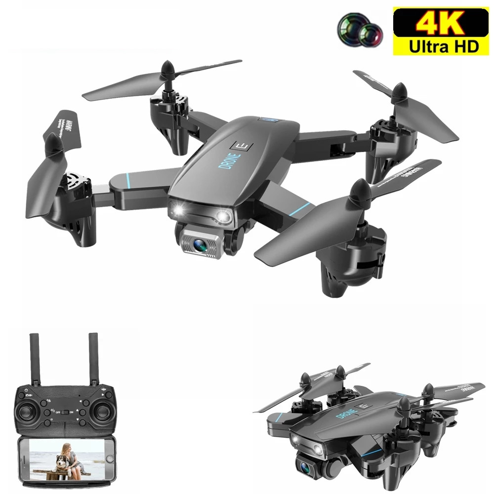 Smart S173 RC Quadcopter Drone Helicopter with 4K Double Profesional HD Camera WIFI FPV 20 Minutes Wide Angle Foldable Toys RTF