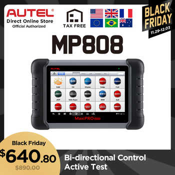 Autel MaxiPRO MP808 Diagnostic Tool Auto Diagnosis Automotive Scanner Upgraded from DS808 Better than MK808 All System Scanner - Category 🛒 Automobiles & Motorcycles