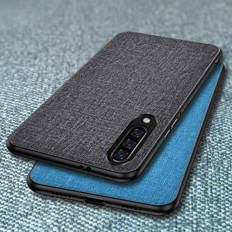 Case For Xiaomi Mi 9T 9 SE A3 A2 Lite A1 Mix 3 2s Note 10 Pro Slim Fabric Skin Back Cover For Redmi Note 9s 8T 8 7 Pro 7A 8A(China)