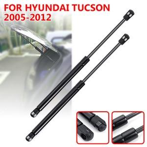 Image 1 - 2X Car Rear Window Glass Gas Spring Shock Lift Strut Struts Support Bar Rod For Hyundai Tucson 2005 2006 2007 2008 2009   2012