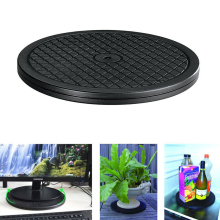 Rotating Swivel Heavy Duty Wheel 360 Degree Rotate Turntable Lazy Susan Turnplate for Clay Pottery Sculpture Monitor TV 25cm