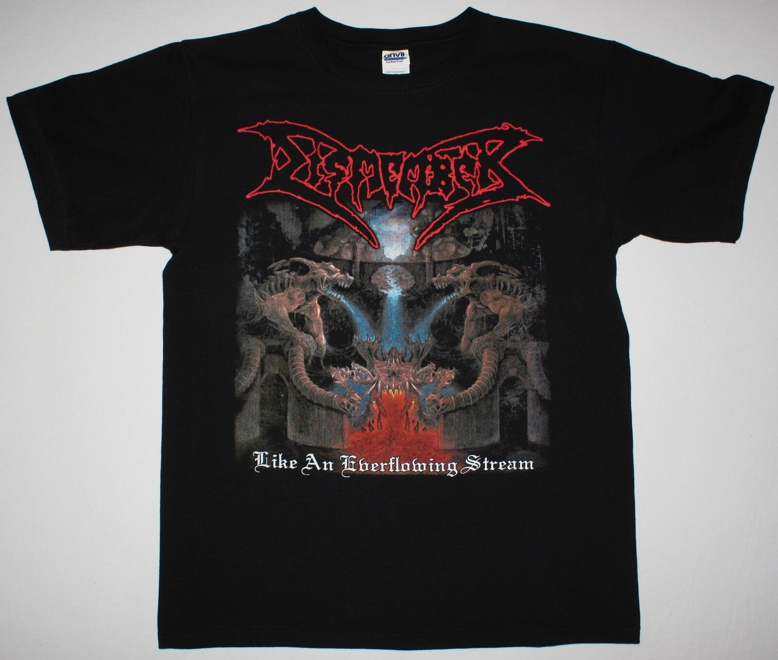 DISMEMBER LIKE AN EVERFLOWING STREAM DEATH BENEDICTION NEW BLACK T SHIRT 100% Cotton Tee Shirt,Summer O Neck Tee,2019 Hot Tees
