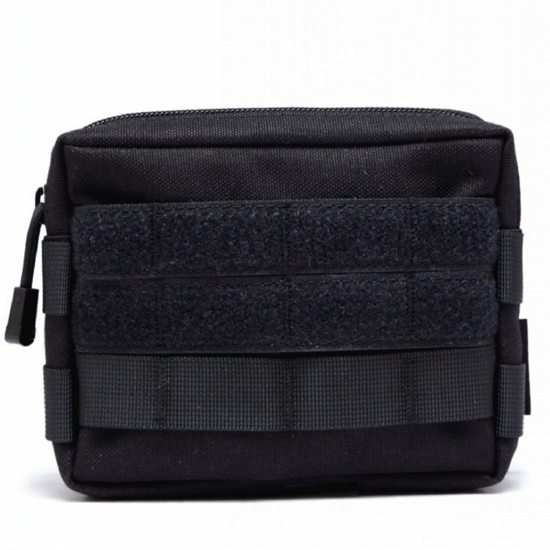 Airsoft Sports <font><b>Molle</b></font> <font><b>Tactical</b></font> Waist Pouch Military Utility EDC Hunting Vest Bag Medic Outdoor Equipment Army Accessories Pouches image
