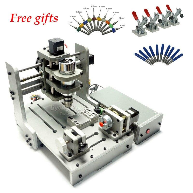 Bricolage Mini machine de gravure CNC routeur en bois gravure forage et fraiseuse