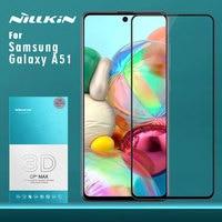 Para samsung galaxy a51 a71 nota 10 lite 10 plus 5g 9 8 s10 s9 s8 mais vidro temperado nillkin 3d cp max capa protetora filme