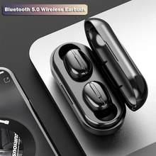 TWS Mini Bluetooth Kopfhörer Drahtlose Sport Wasserdichte 8D HiFi Musik Kopfhörer HD Noise reduction Ohrhörer Mit Mic PK T5 F9