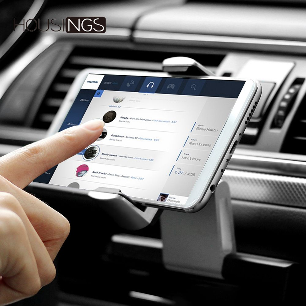 Universal Aluminum Holder For Phone In Car CD Slot Cradle Stand For IPhone 360 Rotating   Mobile Mount GPS  Bracket For Samsung