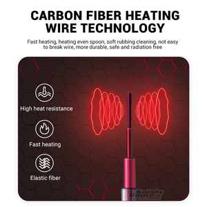 Image 3 - Winter Heated Underwear Suit Smart Phone APP Control Temperature USB Battery Powered  Fleece Thermal Motorcycle Jacket Moto Men