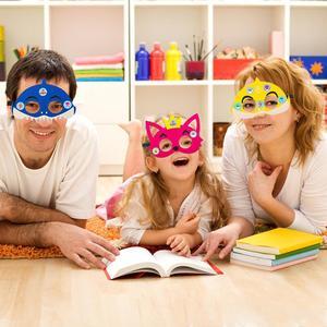 Image 4 - 12 шт., Детские фетровые маски «маленькая Акула»