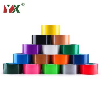 Taśma barwiąca YX taśma bazowa taśma dywanowa wodoodporne taśmy taśma klejąca o wysokiej lepkości Multicolor DIY Decoration tanie i dobre opinie CN (pochodzenie) Farby i dekorowanie BJ10M Duct Tape Colour
