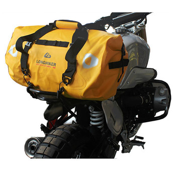 Motorcycle Waterproof Tail Bags Back Seat Bags  Travel Bag Motorbike Scooter Sport Luggage Rear Seat Bag Pack 40L 66L
