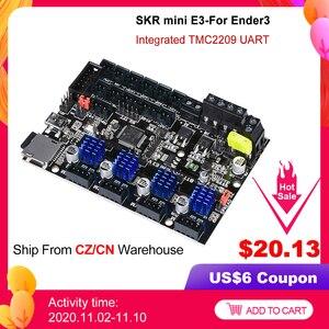 Image 1 - BIGTREETECH SKR mini E3 V1.2 32Bit carte de commande avec TMC2209 UART Driver 3D imprimante pièces skr v1.3 E3 Dip pour crealité Ender 3