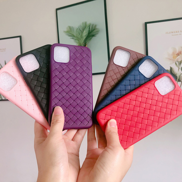 Weave Leather Pattern TPU Cases for iPhone 11/11 Pro/11 Pro Max 6