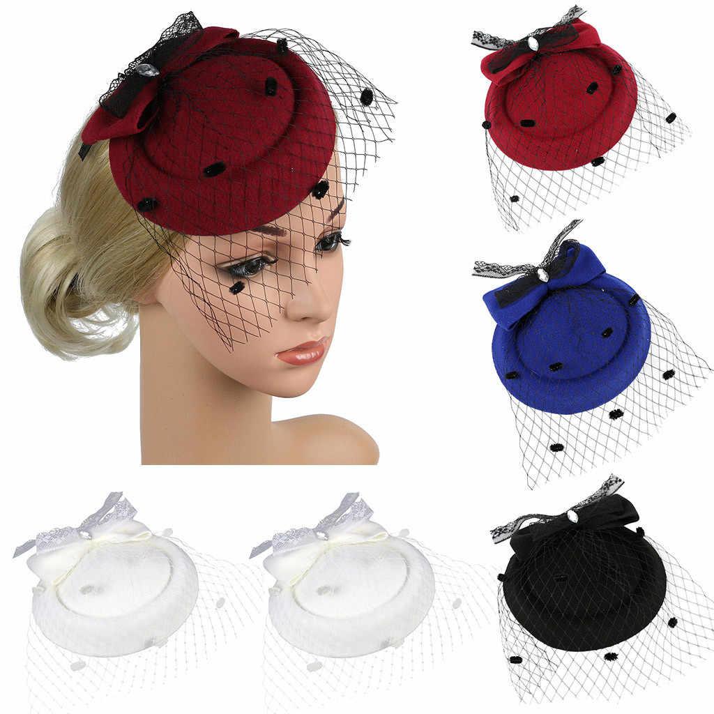 Vrouwen Guirlande Item Haarband Kleurrijke Fascinators Hoed Tea Party Hoofddeksels Linten Veren op een Hoofdband en een Clip