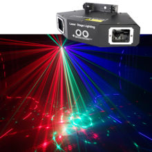 3D Laser Projection Light Rgb Colorful Dmx 512 Scanner Projector Party Xmas Dj Disco Show Lights Music Equipment Dance Floor