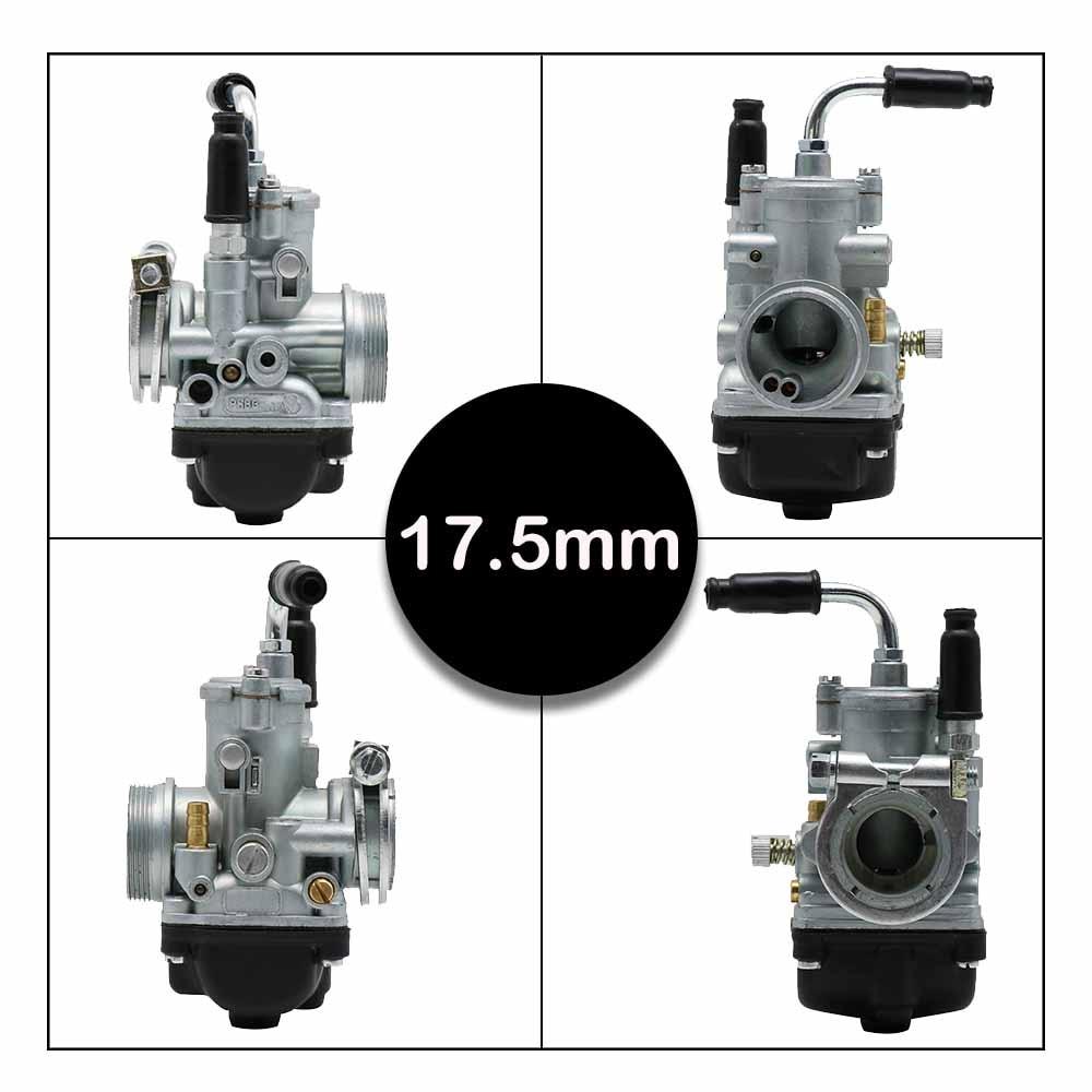 Image 5 - ZSDTRP 17mm 19mm 21mm Dellorto PHBG DS Black Racing Carburetor  Carb DIO JOG 50cc 90cc BWS100 for Puch Yamaha ZumaCarburetor   -