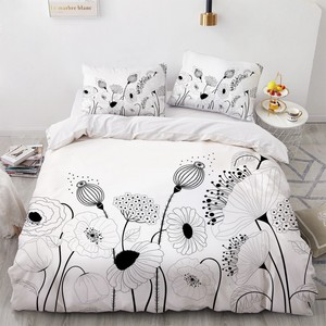 3D постельное белье, постельные принадлежности, пододеяльник, наволочки, пододеяльник, наборы, постельное белье, королева, полный, двойной, п...