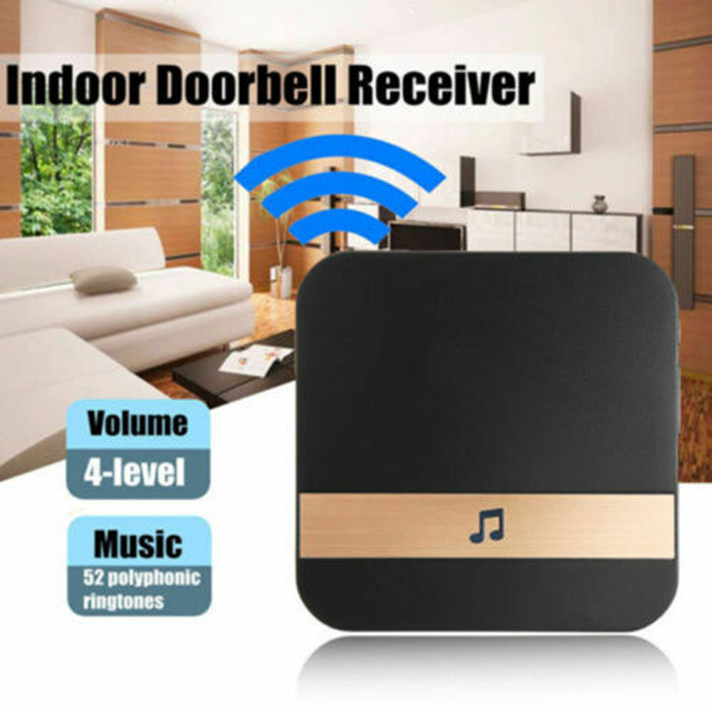 Doorbell Receiver For Smart Indoor Doorbell Wireless WiFi Door Bell US EU  Plug XSH App Drop Shipping