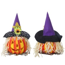 Funny Halloween Decoration Simulation Bubble Cosplay Party Pumpkin Night Light Festival Supplies Kids Gift Cute