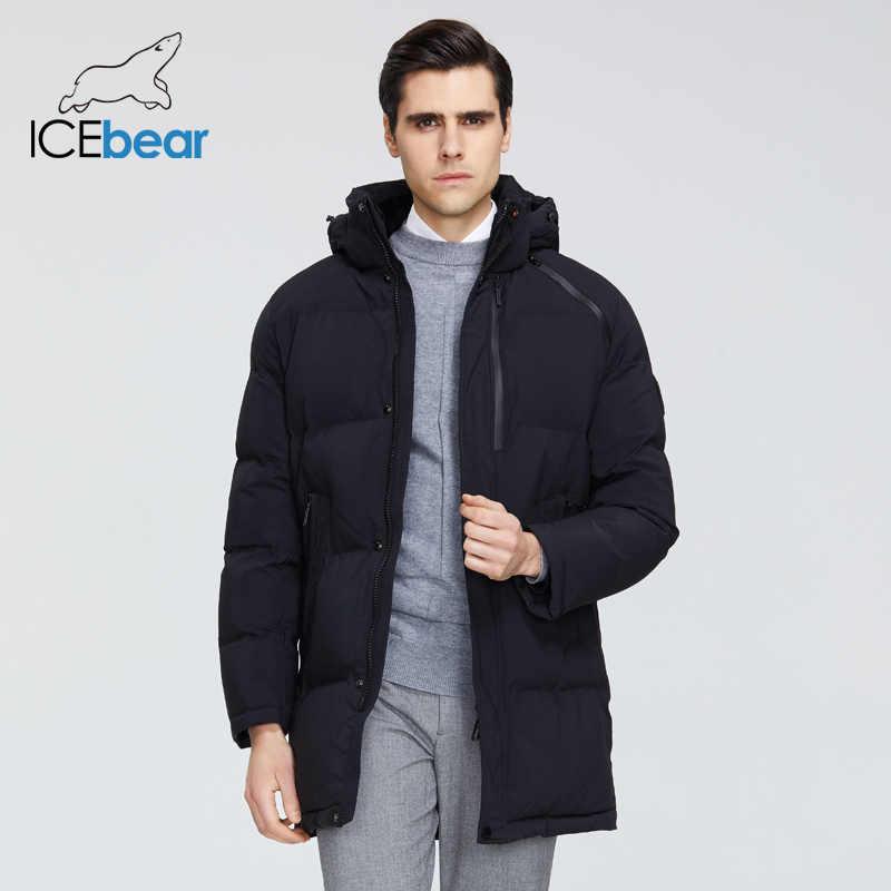 ICEbear 2019 新冬コート高品質メンズジャケットブランド服 MWD19922I