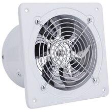 220 В вытяжной вентилятор, 6 дюймов, вытяжной вентилятор, подвесной, настенный, низкий уровень шума, для дома, ванной, кухни, дымок, вытяжной вентилятор, вентиляционное отверстие