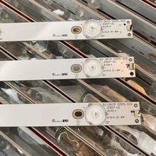 3 unids/set tira de LED para iluminación trasera para 32PFT4100 32PHH4100 LG 32LH500D 32PFT5500 32PFH4100 32PFH4309 32PHT4319 32PFK4309 TPV TPT315B5