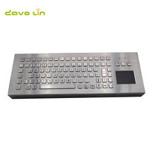 89 клавиш Проводная usb ps2 промышленная металлическая настольная