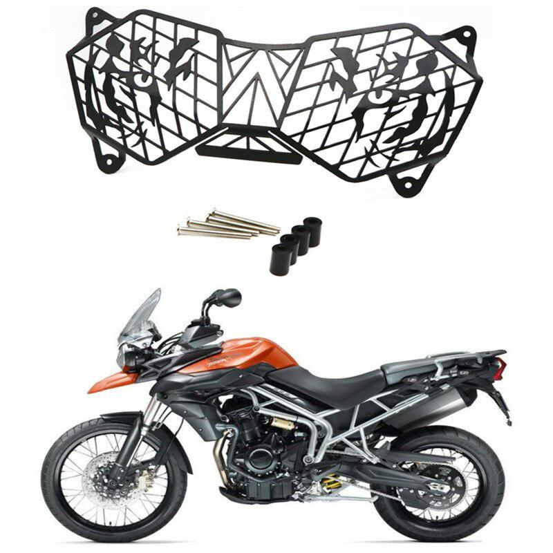 Motorbike Accessories Motorcycle Headlight Protective Guard Grille Light Cover For Triumph TIGER 1200XC EXPLORER 12-17