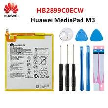 Hua Wei-Batería de tableta HB2899C0ECW, 100% mAh, original, para Huawei MediaPad M3, BTV-W09 de BTV-DL09 de 5100 pulgadas, SHT-AL09, SHT-W09 + herramientas, 8,4