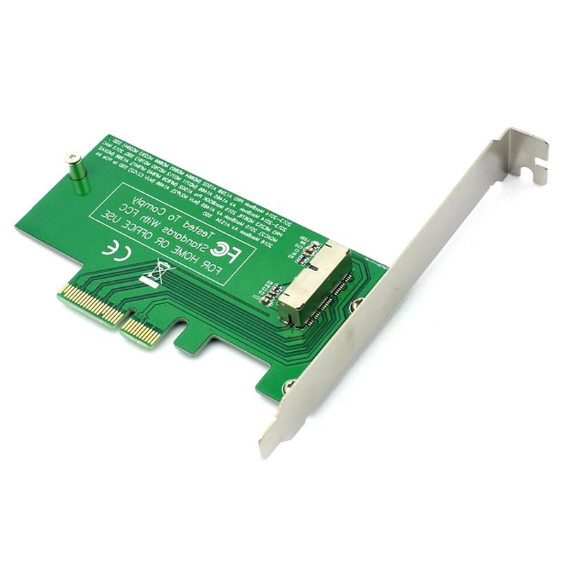 Convert Card For Mac Air Pro 2015 2014 2013 A1398 A1502 A1493 A1465 PCI-Express PCIE PCI-E To 4X Adapter Card SSD
