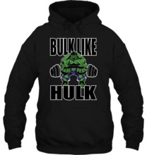 Men Hoodie Bulk Like Hulk Beast Workout Motivation Athlete Gym Fitness Women Streetwear(China)