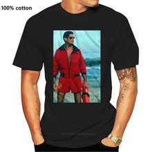 Newest Funny NEW SUMMER BRAND MEN'S CLOTHING BAYWATCH BEACHES SEXY SPAIN GIRLS WHITE T SHIRT CAMISETAS MALE SHORT