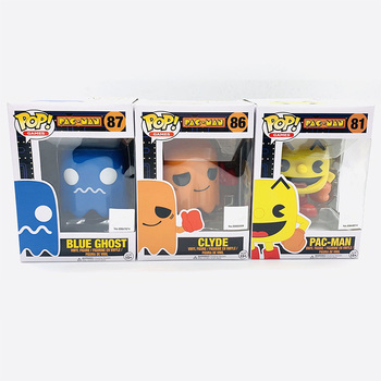 Funko Pop PAC-MAN PACMAN #81 CLYDE #86 BLUE GHOST #87 Vinyl Action Figure Dolls Toys 1