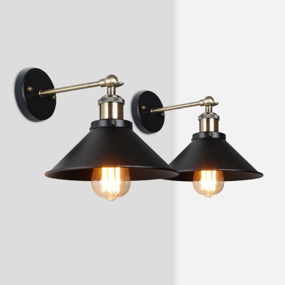 US $5.5 5% OFFVintage Wall Lamp,Industrial Retro wall light,bedroom  living room wall sconces,for restaurant corridor Store decoration  lightingLED