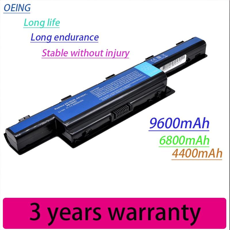 New Bateria Do Portátil Para Acer Aspire V3 5741 5742 5750 5551G 5560G 5741G 5750G AS10D31 AS10D51 AS10D61 AS10D71 AS10D75 AS10D81