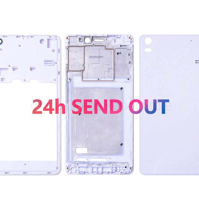 Lenovo Case Back-Cover Battery-Door-Replacement for A7600 Original