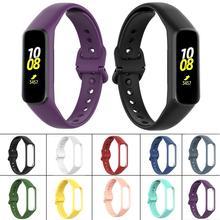 Newest Silicone Watch Strap Wrist Band Strap For Samsung Galaxy Fit-e R375 Smart Bracelet Original Style Watch Strap Accessories v sport ут 102 5