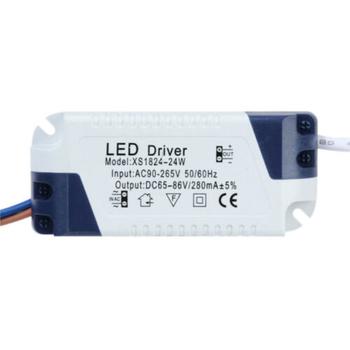 Akcesoria oświetleniowe LED 240 260mA oświetlenie elektryczne 3W-24W transformator prąd stały Adapter wstążka materiały oświetleniowe tanie i dobre opinie CN (pochodzenie) Brak 7-88V ROHS plastic over voltage Constant Current 90-265V