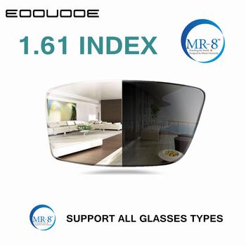 1 61 indeks MR-8 soczewki fotochromowe soczewki korekcyjne soczewki asferyczne soczewki do krótkowzroczności nadwzroczności soczewki prezbiopii tanie i dobre opinie EOOUOOE CN (pochodzenie) Z poliwęglanu Okulary akcesoria UV400 Antyrefleksyjną
