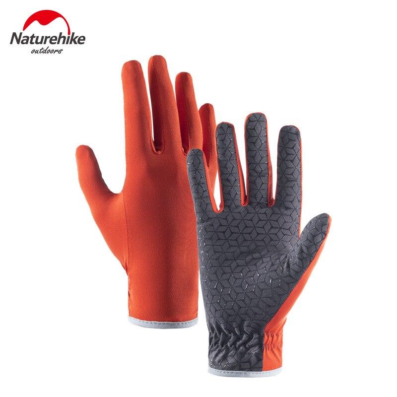 Naturehike Thin Non-slip Gloves Spring Summer Men Women Breathable Sports Mountain Climbing Outdoor Riding Slip-proof Gloves
