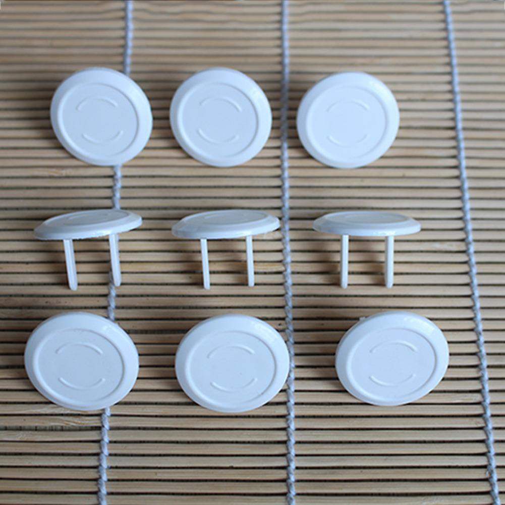 10 Power Sockets For Anti-shock Children Protective Cover Baby Socket Cover Prevent Accidental Electric Shock For Young Children